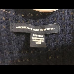 American Eagle Brand wrap sweater